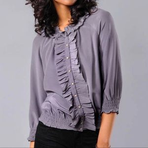 Joie Dominica Ruffle Blouse